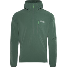 Rab Borealis Pull-on Midlayer Heren Evergreen